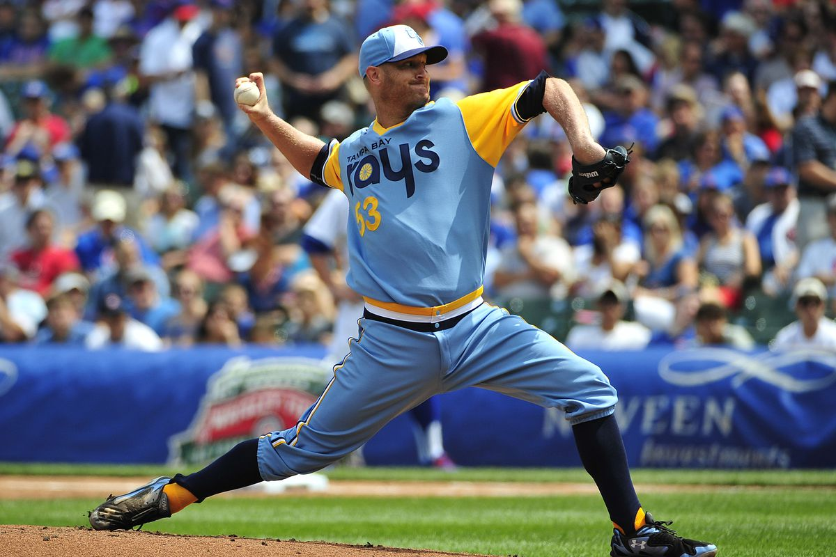 Tampa Bay Rays v Chicago Cubs