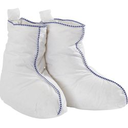 Hästens Down Slipper Boots. YES. The ultimate treat for your feet, these cozy, 100% cotton boots are filled with a blend of 75% white down and 25% sea bird feathers, to ensure that you or your loved one is wrapped up in nothing other than the most luxurio