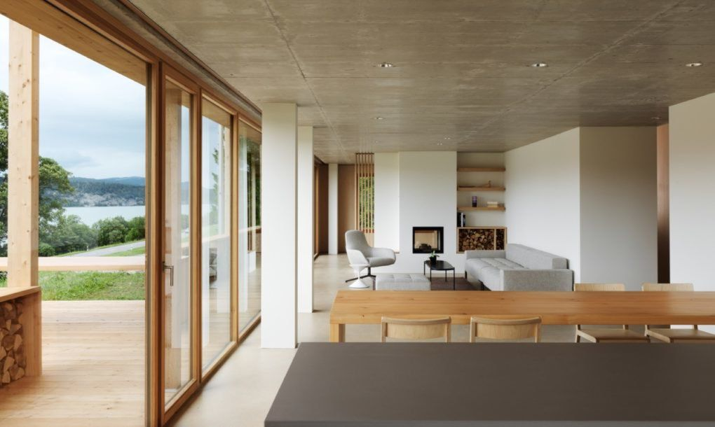 prefab home in switzerland is powered by the sun curbed