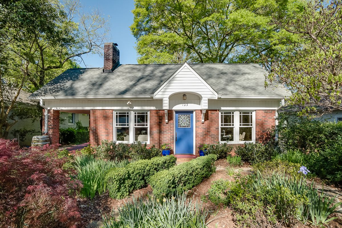 A small bungalow for sale in Kirkwood Atlanta for $379,000.