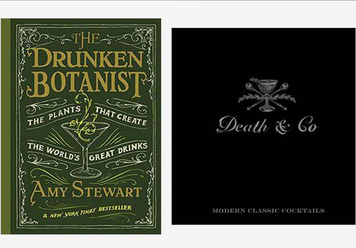 The Drunken Botanist and Death and Co. covers