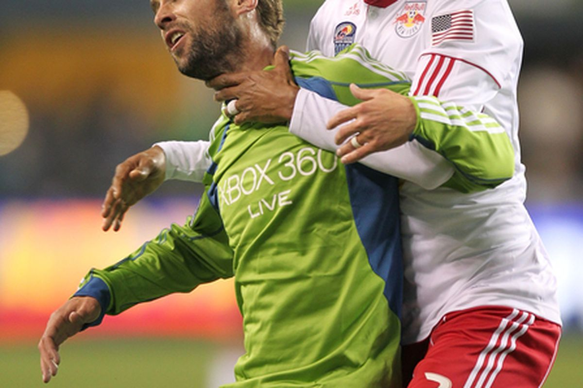 Everybody wants to choke a <strong>Seattle Sounders</strong> player. Or fan, right?...