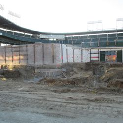 Another view of the right-field bleachers on Sheffield