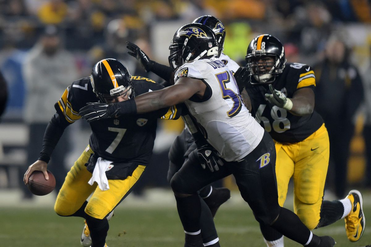 NFL: Wild Card Playoff-Baltimore Ravens at Pittsburgh Steelers