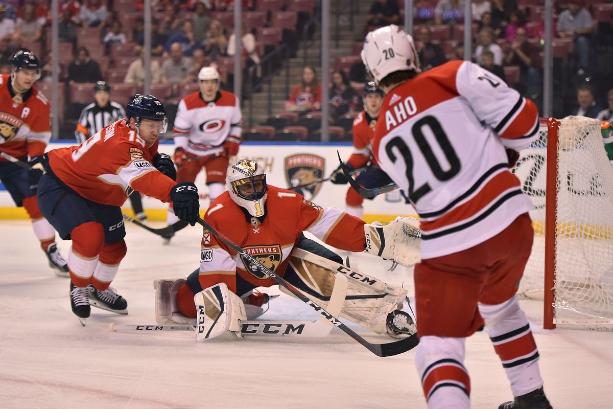 Carolina Hurricanes at Florida Panthers: Game Lineups ...
