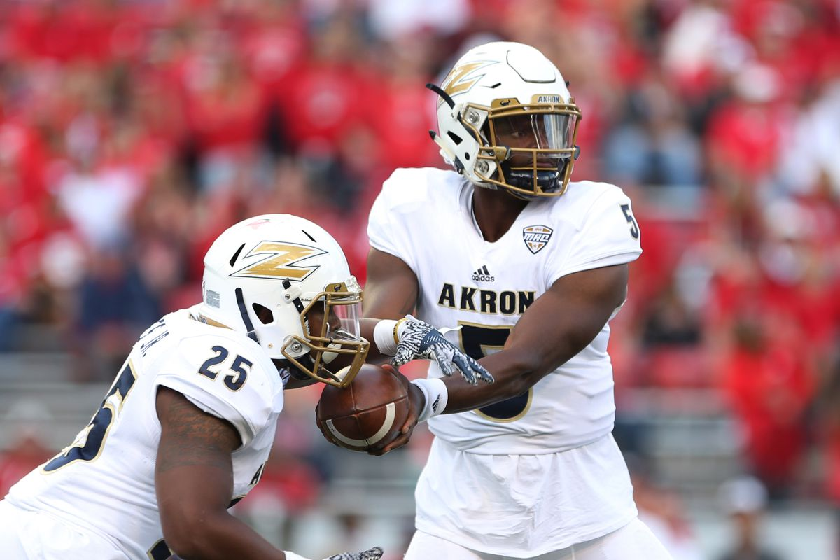 NCAA Football: Akron at Wisconsin