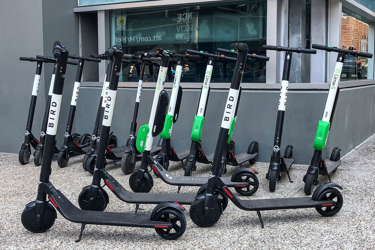 Electric Scooters Are Inspiring Lazy People To Get