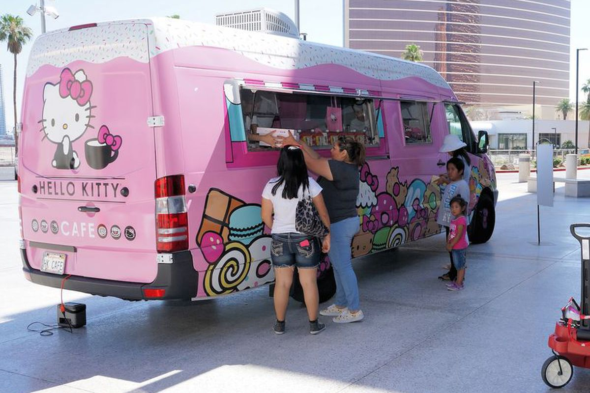 The Hello Kitty Cafe Truck Purrs into Las Vegas Again - Eater Vegas 4d442c7f6dbc