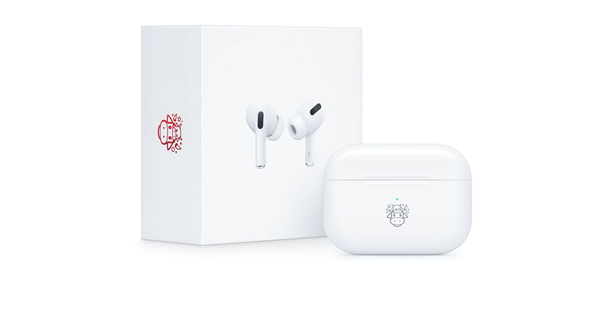 Apple celebrates the Year of the Ox with limited AirPods Pro in Asia