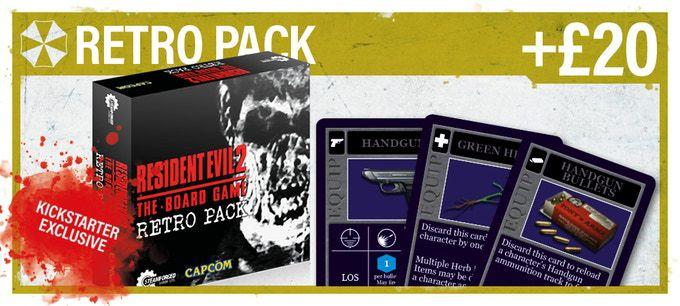 retro pack from resident evil 2