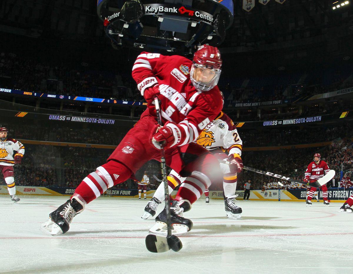 2019 NCAA Division I Men's Ice Hockey Championships Mario Ferraro San Jose Sharsk