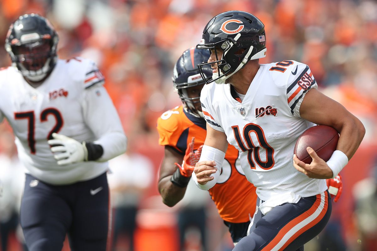 For Bears to make the playoffs, a running Mitch Trubisky is necessary