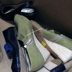 Summer 2011 Marais wedge booties, $75
