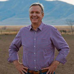 Democratic U.S. Senate candidate Scott Howell