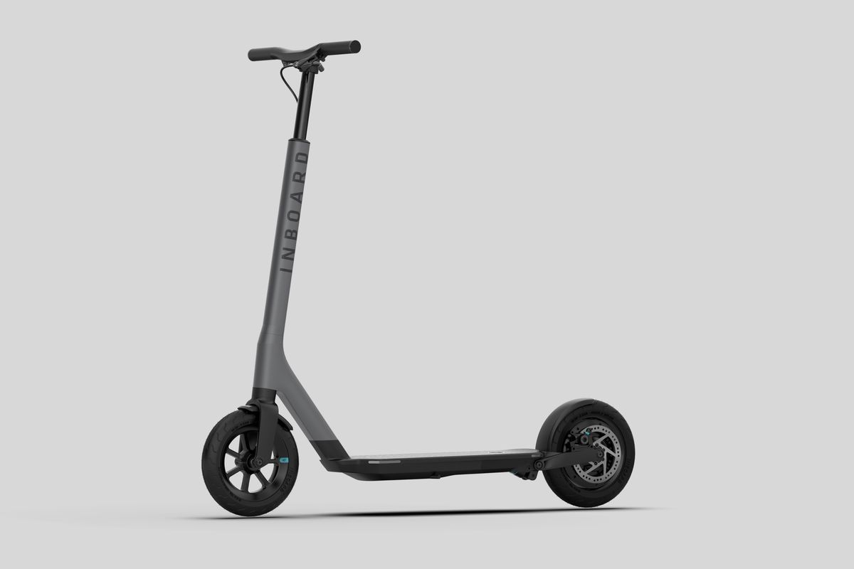 electric skateboard startup inboard announces an e scooter. Black Bedroom Furniture Sets. Home Design Ideas
