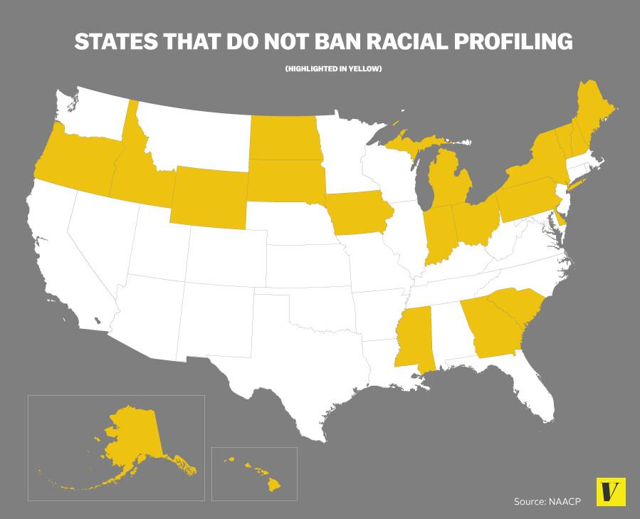 states racial profiling bans