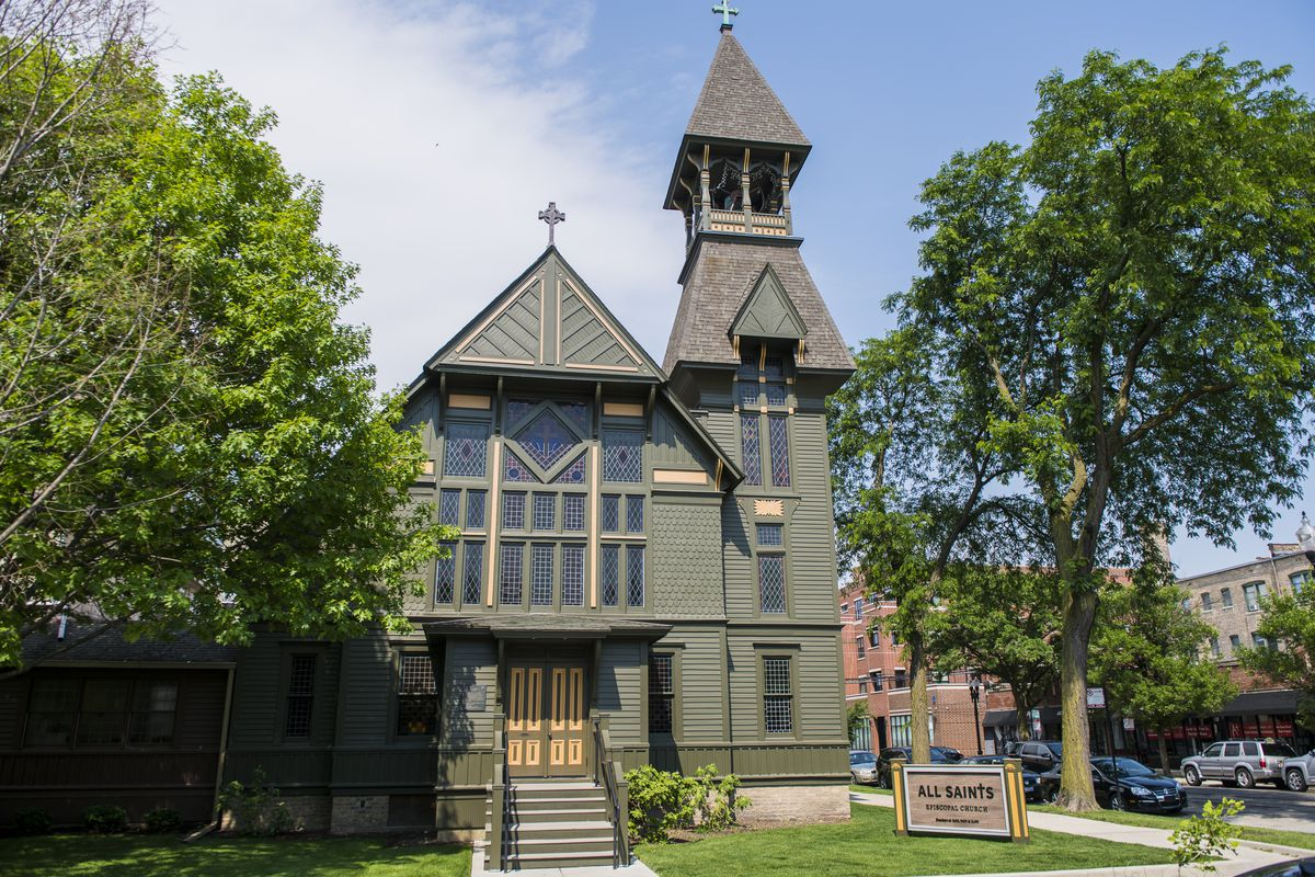 All Saints Episcopal Church in the 4500 block of North Hermitage Avenue in Ravenswood.   Tyler LaRiviere/Sun-Times
