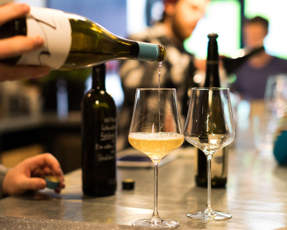 Best Christmas drinks in London: Newcomer Wines Dalston