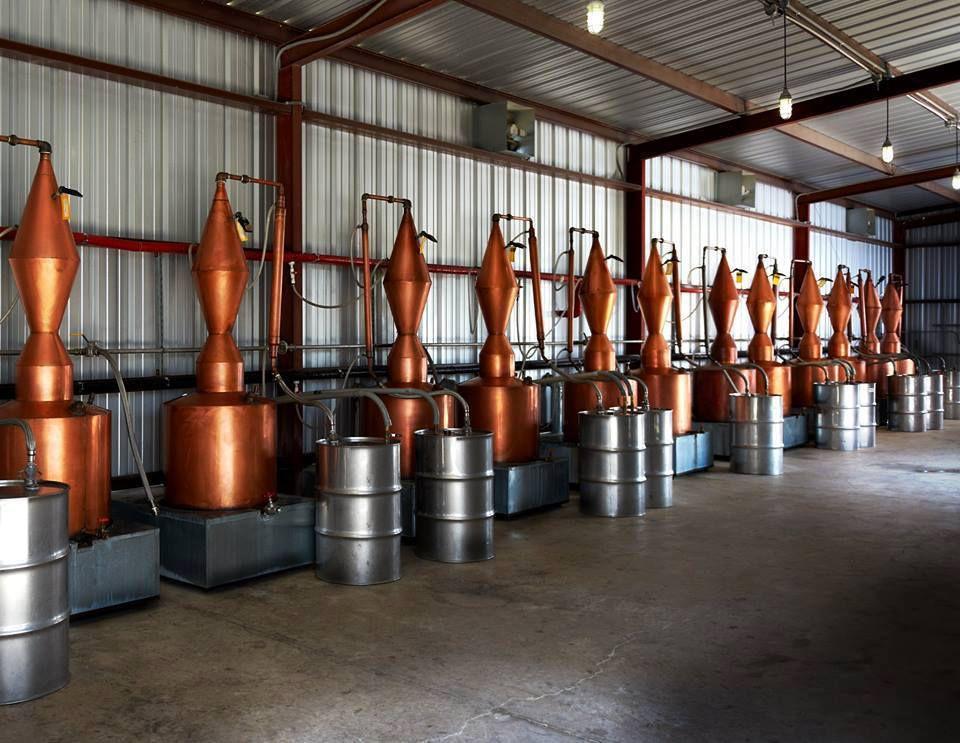 Dripping Springs Vodka's distillery