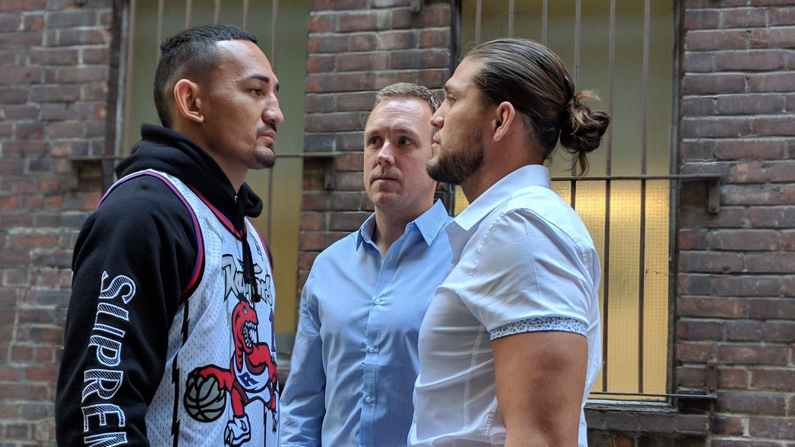 Face Off! Watch Max Holloway stare down Brian Ortega ahead of UFC 231