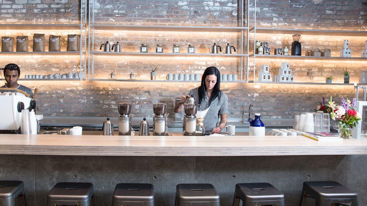 Inside Revelator Coffee, New Orleans