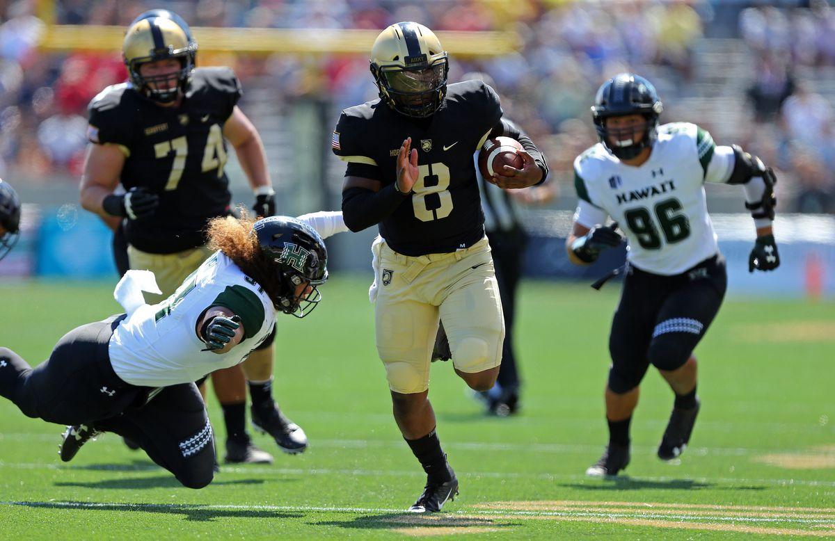 NCAA Football: Hawaii at Army