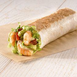 Shrimp and Avocado Burrito