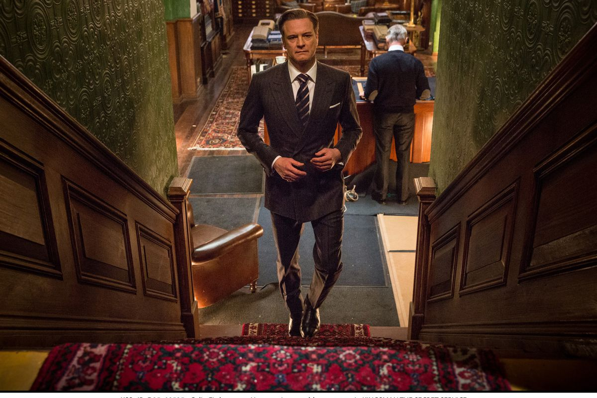 If nothing else, Colin Firth is super handsome in Kingsman.