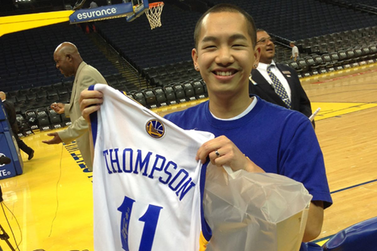 Meet your GSoM Night Free Throw Champ Greg Leong! Defeated 300+ participants & didn't miss a shot!