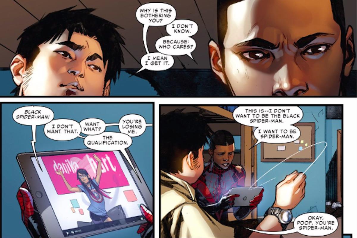 Gay spiderman comics