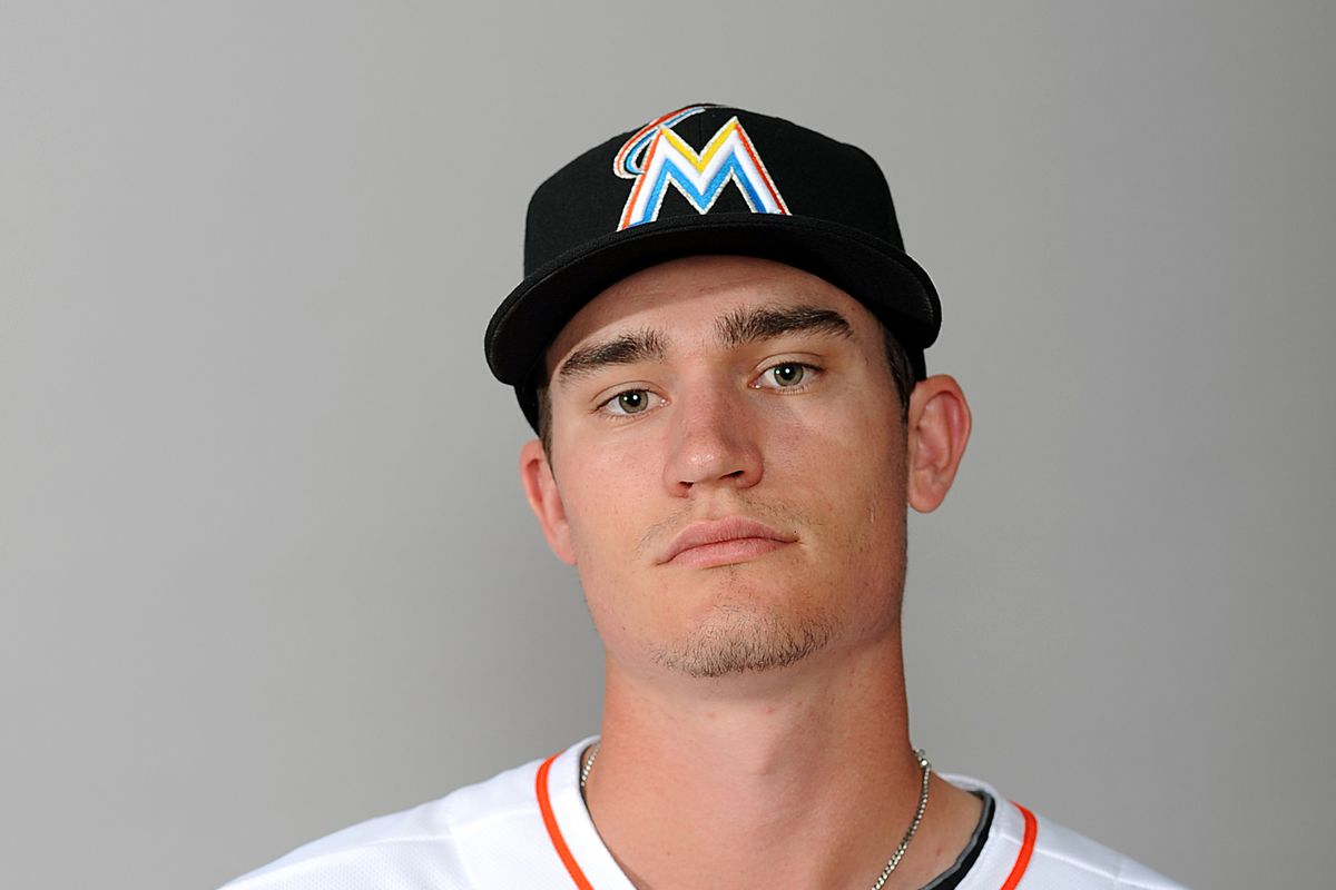 Miami Marlins southpaw Andrew Heaney.