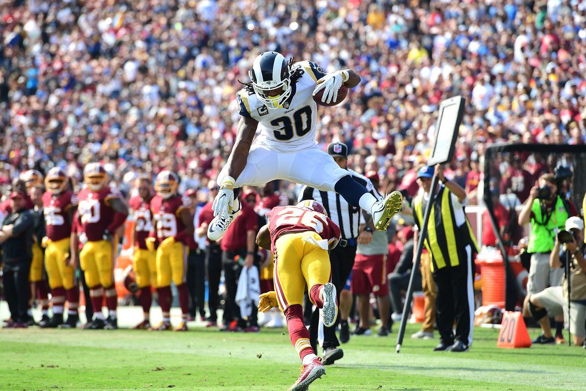 The Los Angeles Rams Todd Gurley Looks Like an NFL Star Again