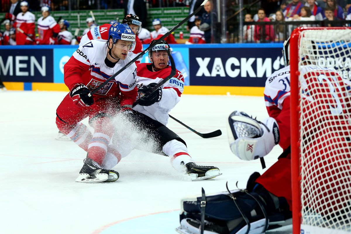 Czech Republic v Austria - 2015 IIHF Ice Hockey World Championship