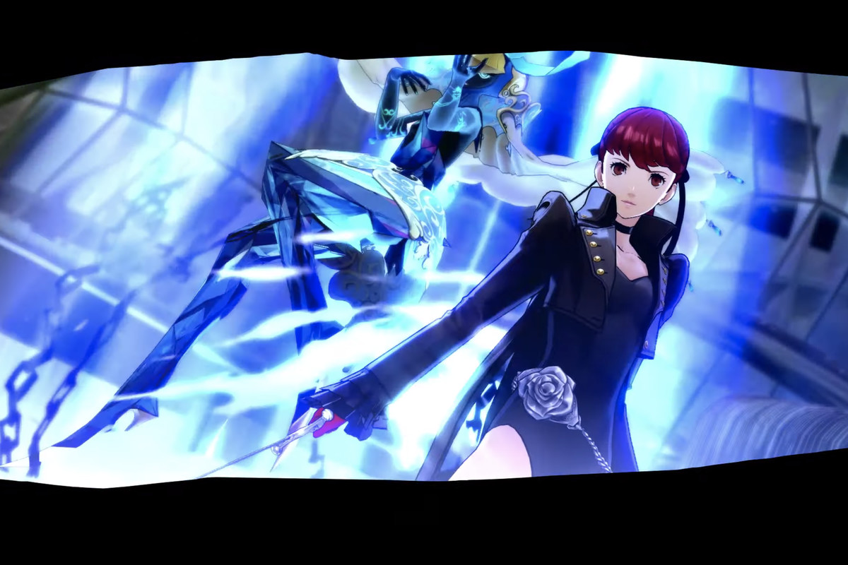 Persona 5 Royale's new characterKasumi Yoshizawa and her persona Cendrillion
