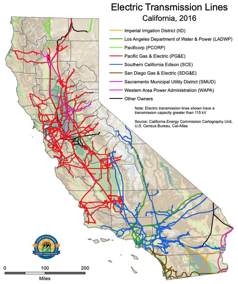 california transmission lines