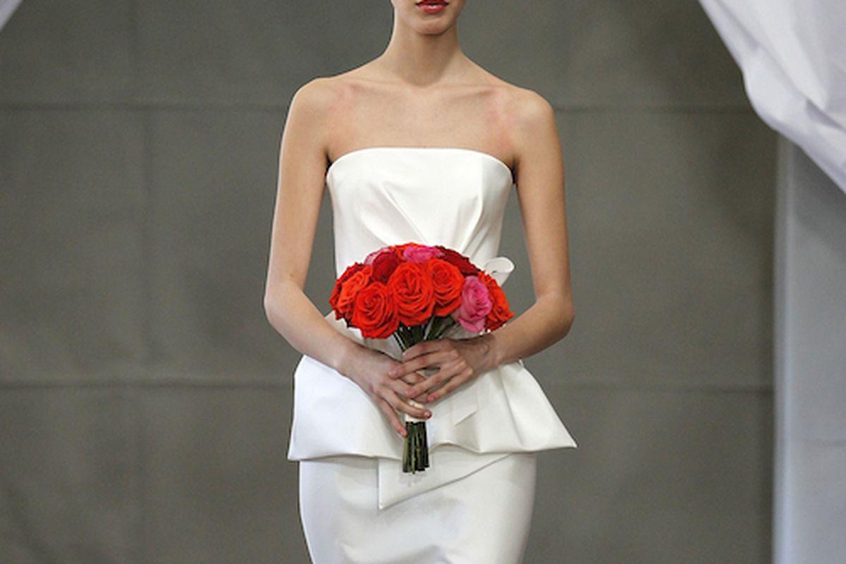 Carolina Herrera 2013 Bridal via Peter Michael Dills/Getty