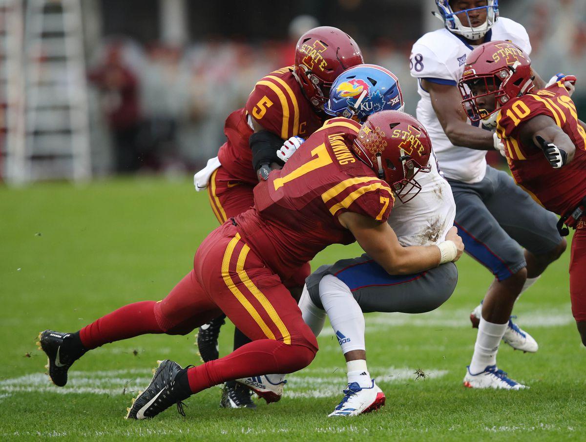 NCAA Football: Kansas at Iowa State