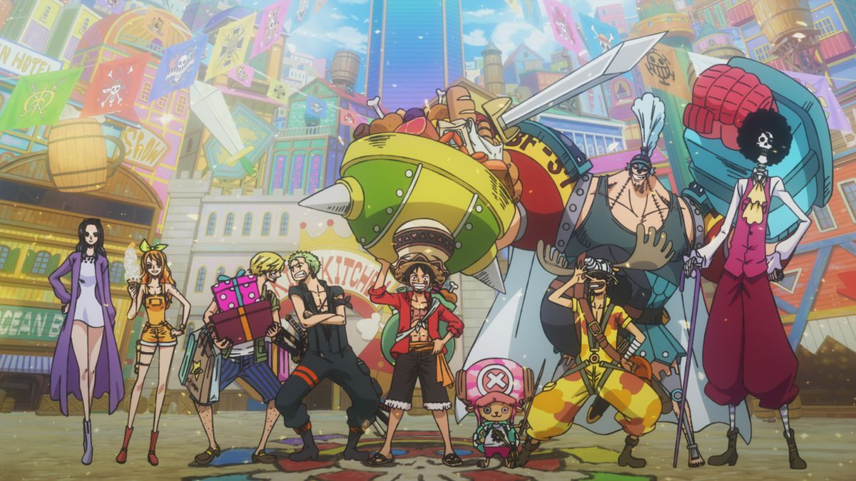 Revew One Piece Stampede Is A Celebration For Anime Fans Polygon