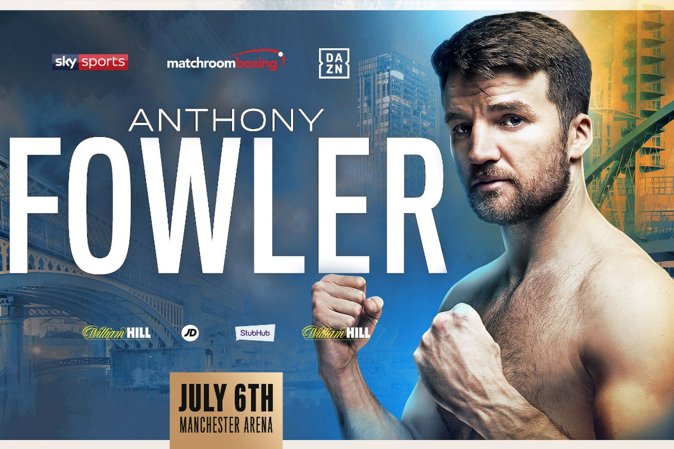 a2388ee0 624d 479a b3d6 584faa245bf5 1.0 - Fowler, Smith added to July 6 Matchroom card