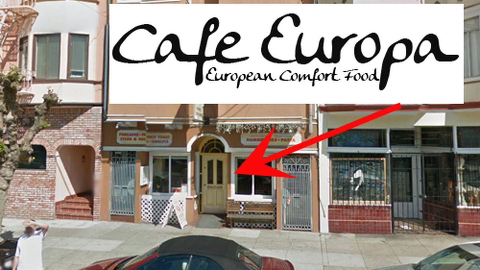 Europa Cafe Miami Menu