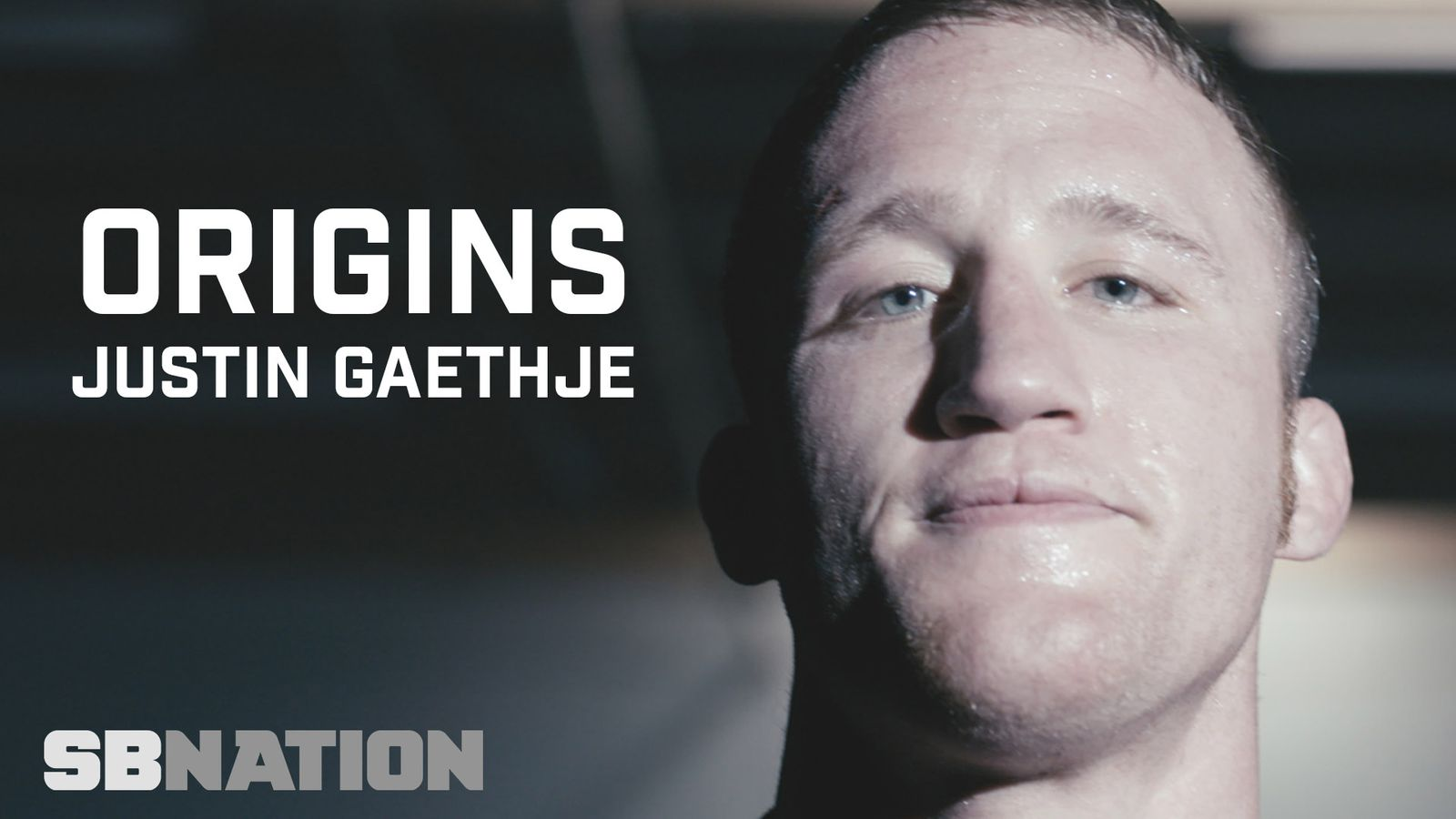 The story of Justin Gaethje's journey to the UFC