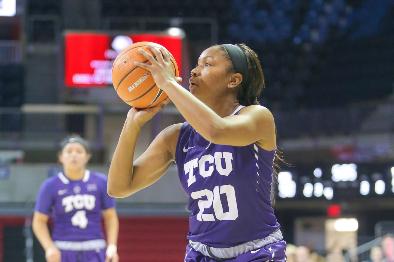 COLLEGE BASKETBALL: NOV 14 Women's - TCU at SMU