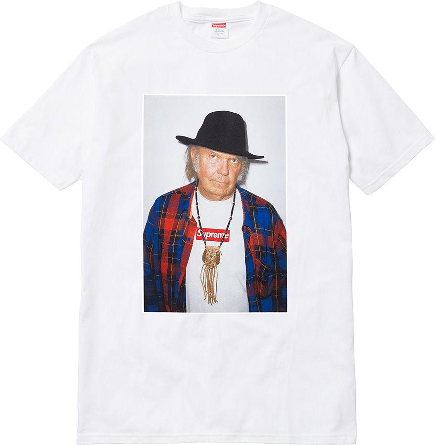 Supreme x Neil Young T-shirt