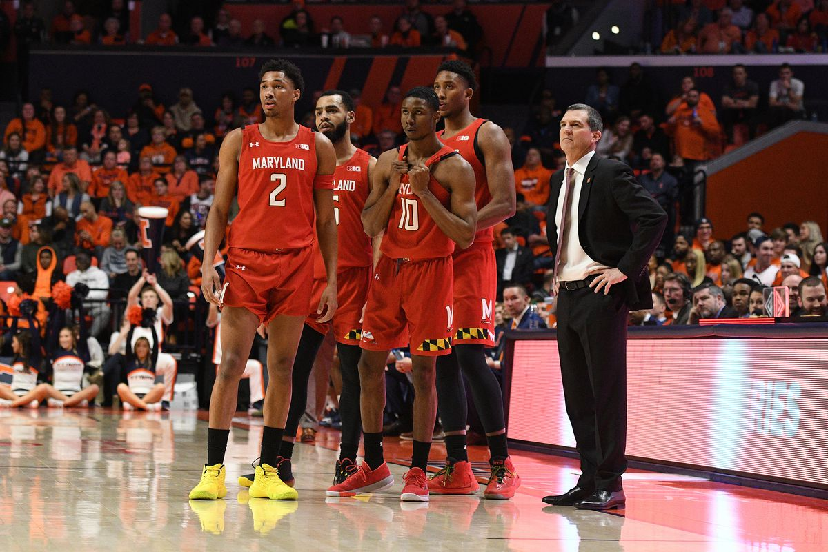 COLLEGE BASKETBALL: FEB 07 Maryland at Illinois