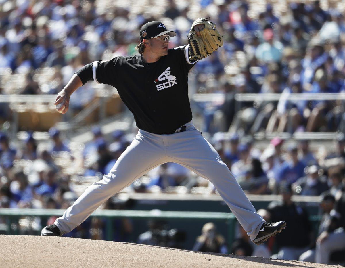 <em>Carson Fulmer throws during the first inning. (AP)</em>