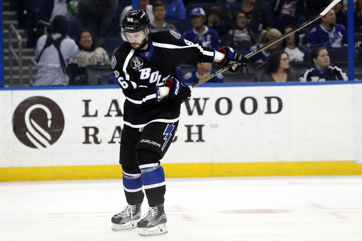 NHL: Columbus Blue Jackets at Tampa Bay Lightning