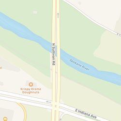 <em>The path on Apple Maps.</em>