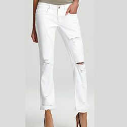 """<strong>BLANKNYC Jeans</strong> White Distressed Denim Skinny, <a href=""""http://www1.bloomingdales.com/shop/product/blanknyc-jeans-white-distressed-denim-skinny?ID=679686&CategoryID=2911&LinkType=#fn=BRAND%3DBLANKNYC%26spp%3D3%26ppp%3D96%26sp%3D1%26rid%3D"""