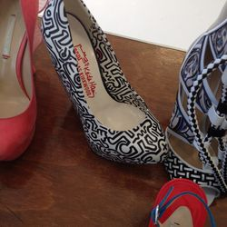 Nicholas Kirkwood x Keith Haring pumps, $500 (the only pair left, size 36)