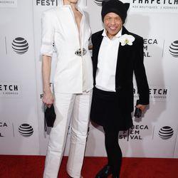 Deborah Fenker and Zang Toi